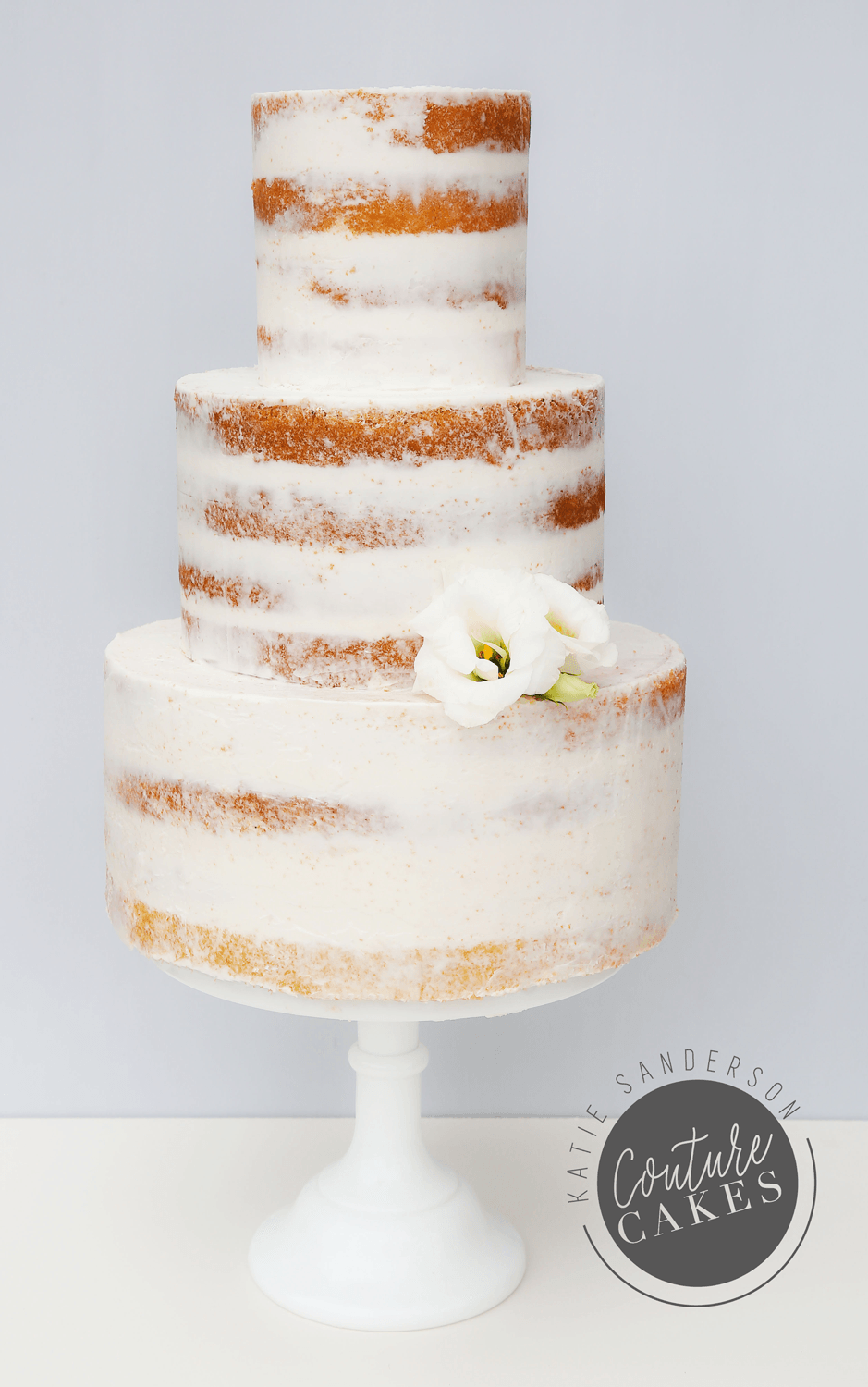 Naked Cake serves 110 portions, Price £335