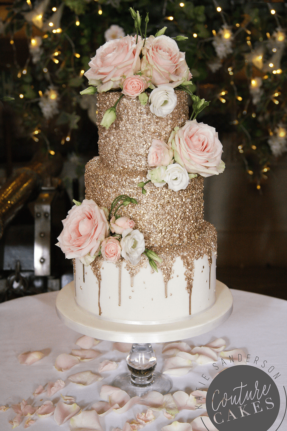 Three Tear Wedding Cakes.Tiered Wedding Cakes For Stamford Lincolnshire