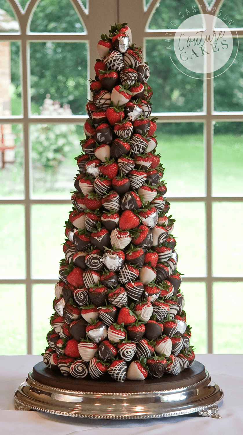 Provides 200 dipped strawberries, Price £395 (for 200 strawberries)