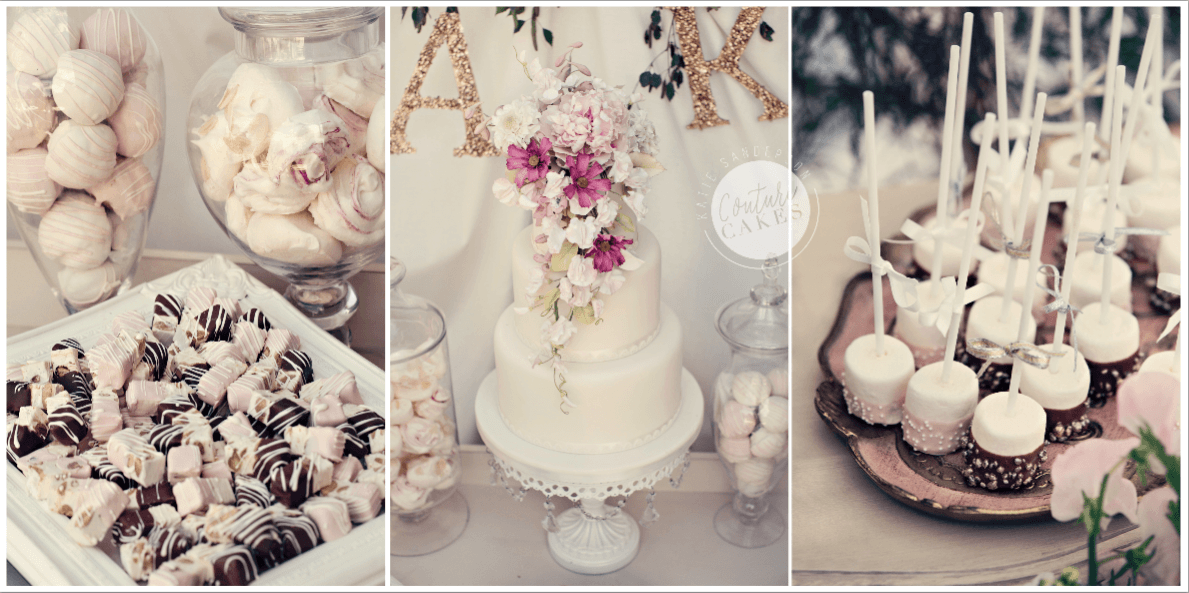 Vintage-Botanical-Dessert-Table-Cake-4