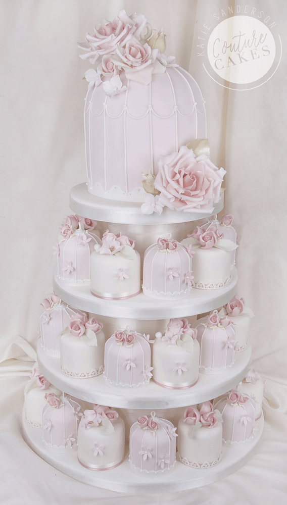 Provides 30 mini cakes plus 30 portion top tier, Price £487
