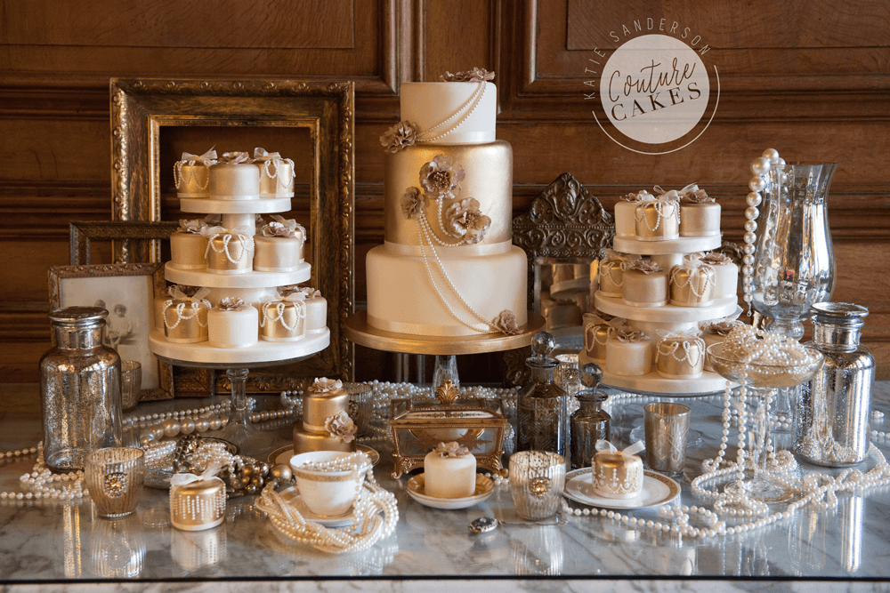Cake serves 125 £575, plus mini cakes £380