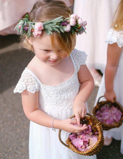 Flower Girl normanton church rutland