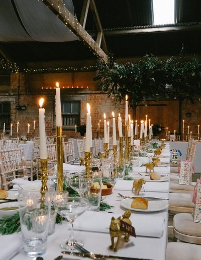 Northamptonshire wedding reception
