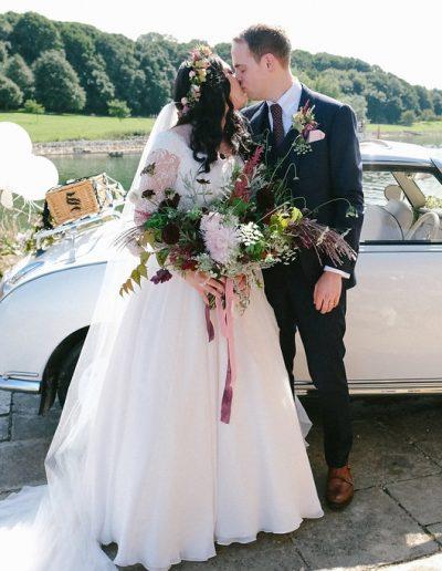 Wedding car normanton church rutland